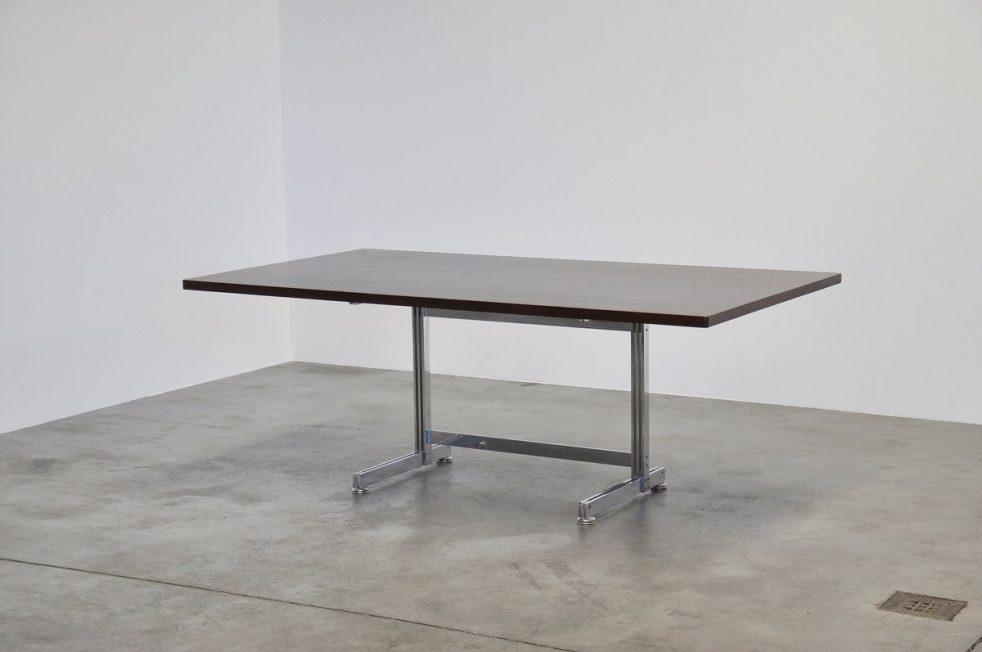 Jules Wabbes Cintree desk for Mobilier Universel Belgium 1960