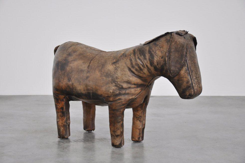 Dimitri Omersa donkey foot stool, England 1960