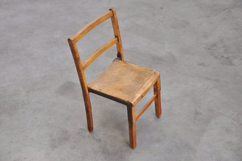 German pre war modernist chair ca 1920