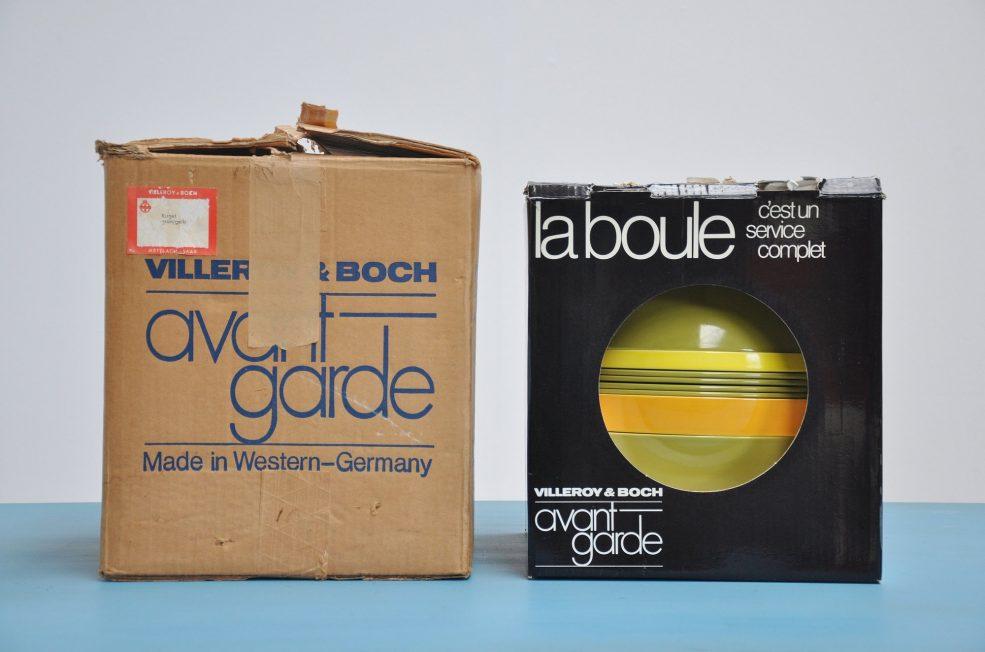 Helen von Boch Avant Garde table ware 1971