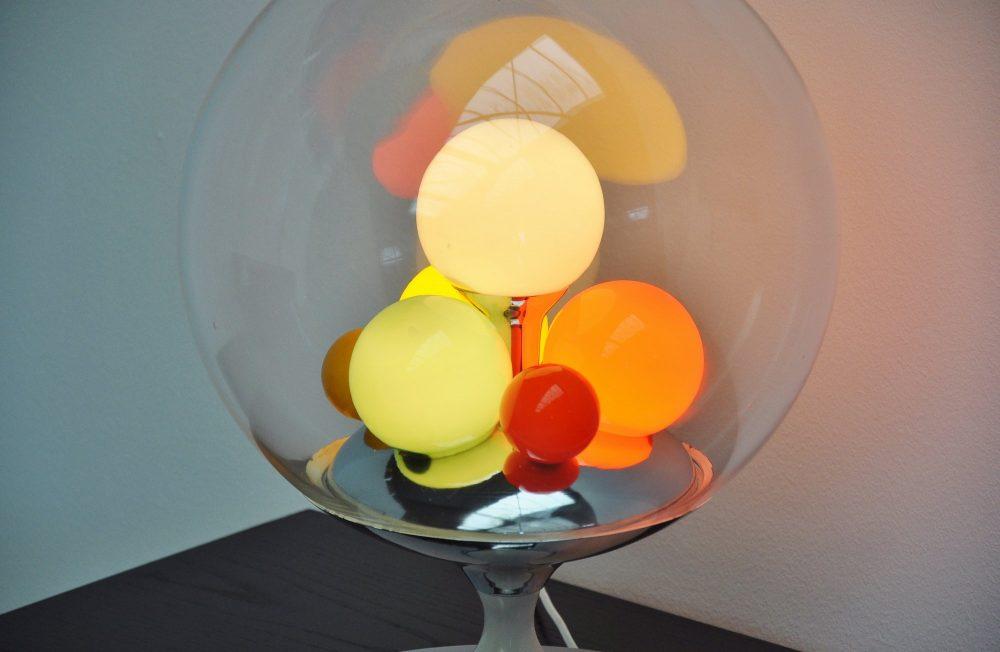 Angelo Brotto Barbarella table lamp for Esperia 1965