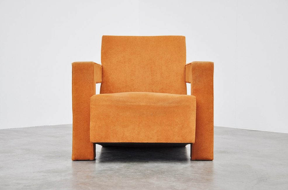 Gerrit Thomas Rietveld Utrecht chair Metz & Co 1971