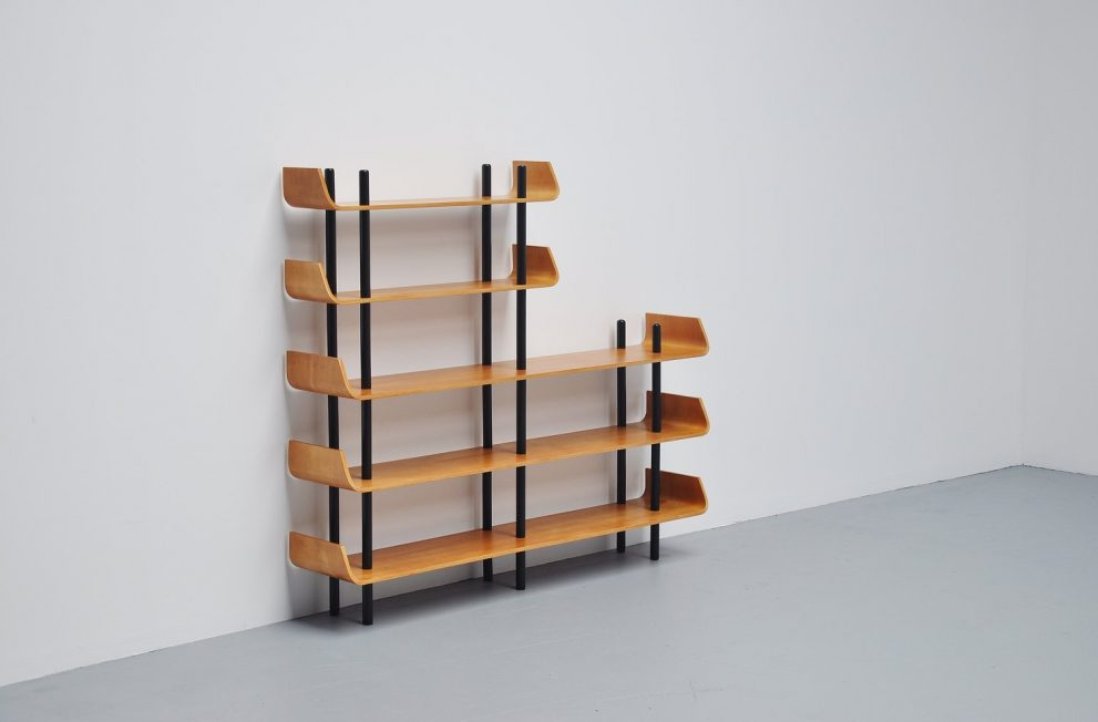 Willem Lutjens bookcase for Gouda den Boer 1953