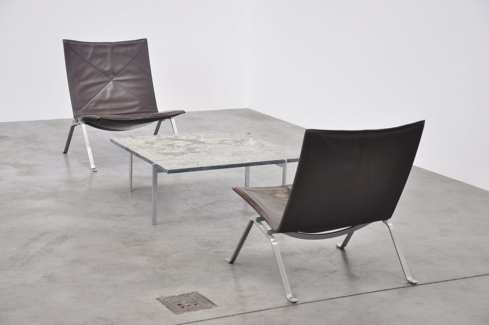 Poul Kjaerholm PK61 table for E Kold Christensen 1956