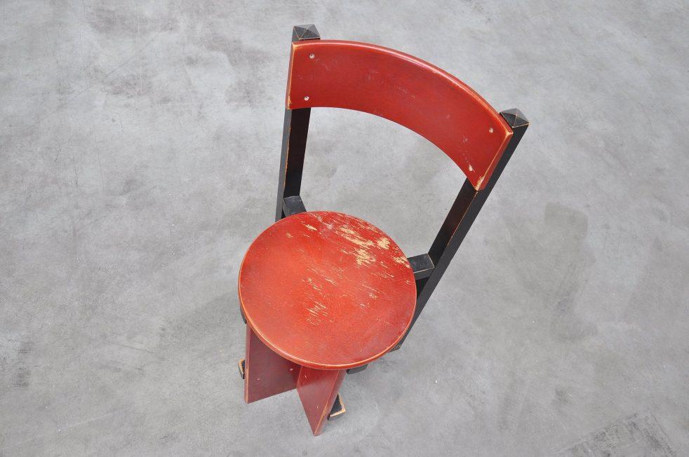 Piet Blom Bastille chair for Twente Institute of technology  1965
