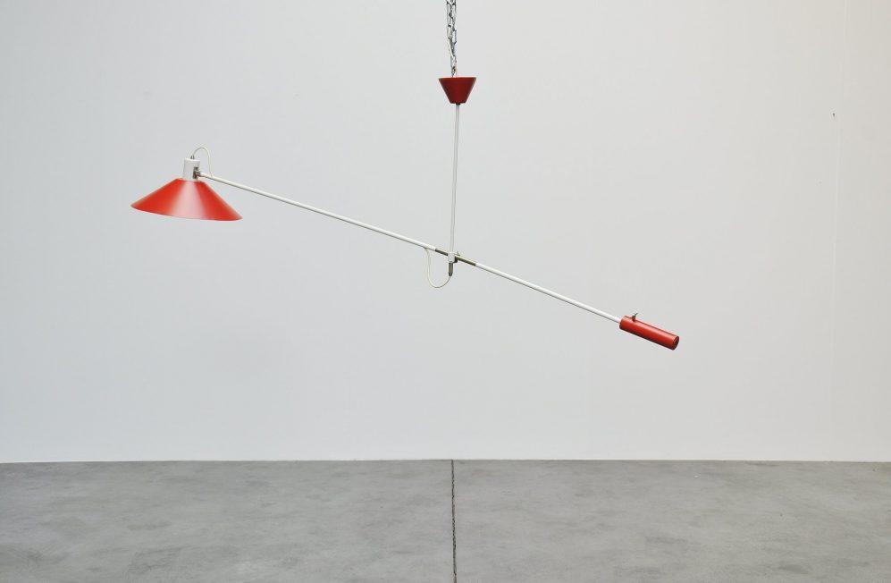 Anvia counter balance lamp by JJM Hoogervorst 1957
