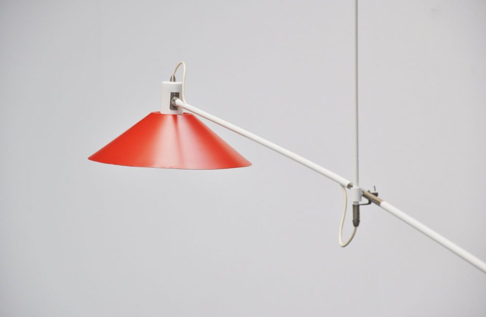 Anvia counter balance lamp by JJM Hoogervorst 1957