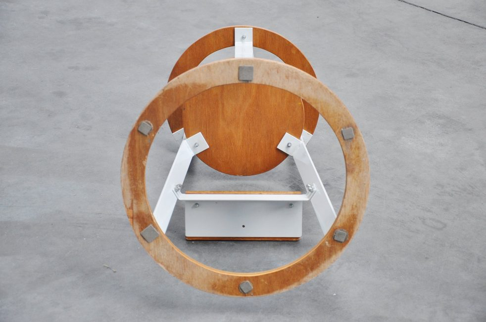 Gunnar Daan high kids chair prototype 1966