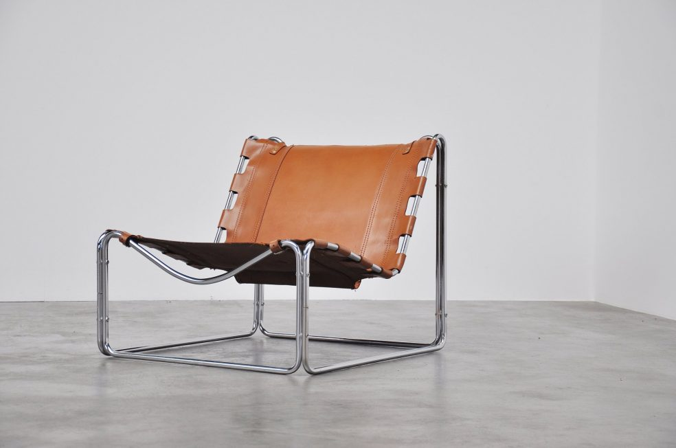 Pascal Mourgue Fabio lounge chair for Steiner France 1970
