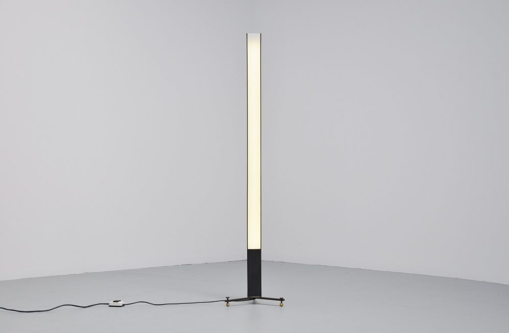 Willem Iepma modernist floor lamp for Polak 1954