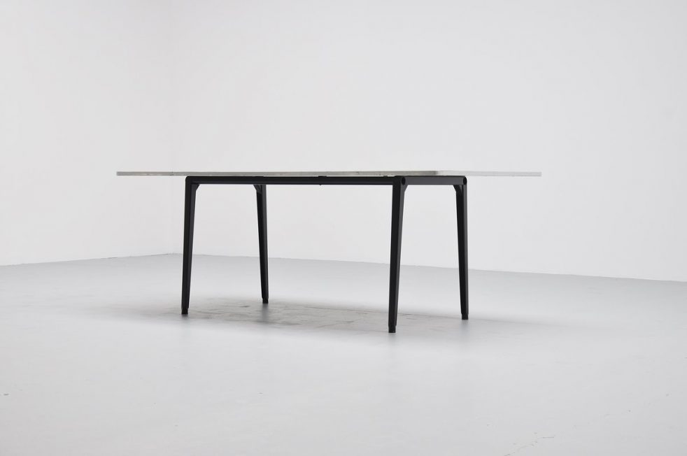 Friso Kramer Reform XL table with linoleum top Ahrend 1955