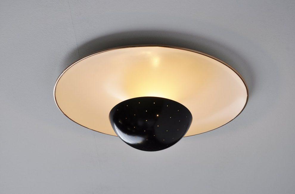Gino Sarfatti Arteluce 155 ceiling lamp 1950