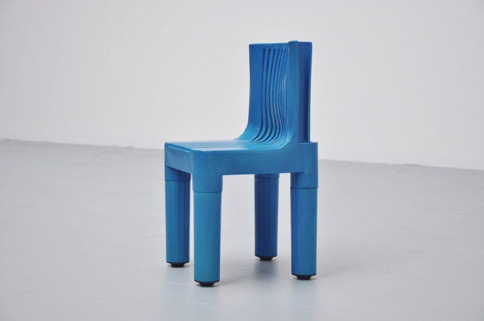 Marco Zanuso plastic kids chair Kartell 1964