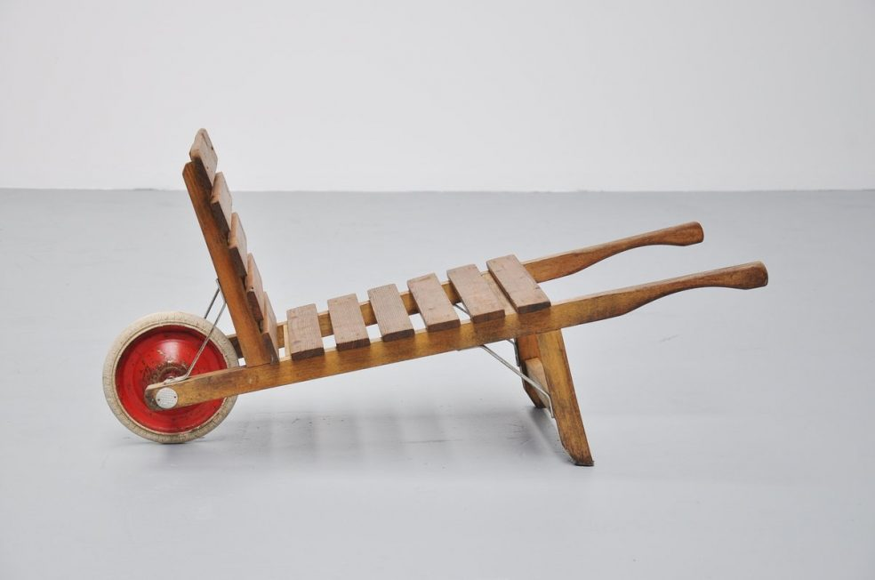 Ado kids wheelbarrow by Ko Verzuu 1950