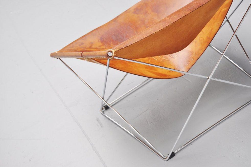 Pierre Paulin F675 Butterfly chairs pair Artifort 1963
