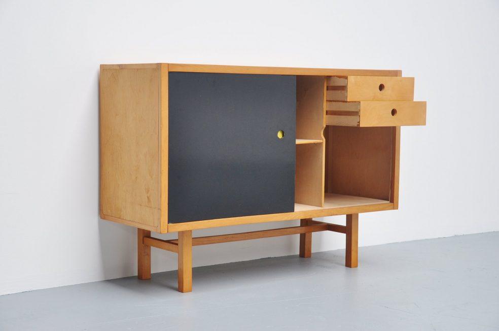 Jaap Penraat Dutch modernist credenza 1960