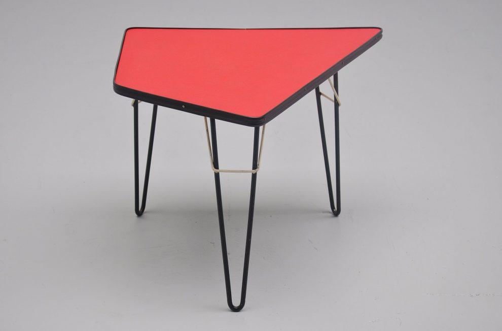 Willy van der Meeren 'T2' side table for Tubax 1954