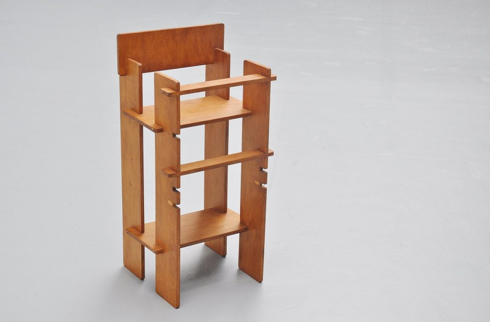 High modernist kids chair De Stijl period 1950