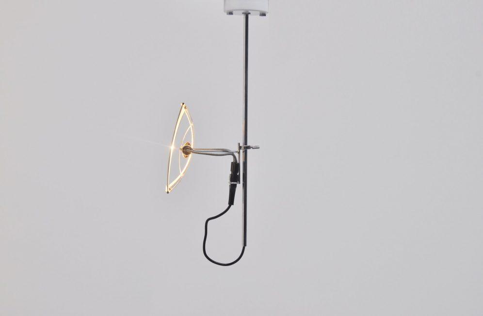 Gino Sarfatti Arteluce chandelier Mod No 269 S 1972