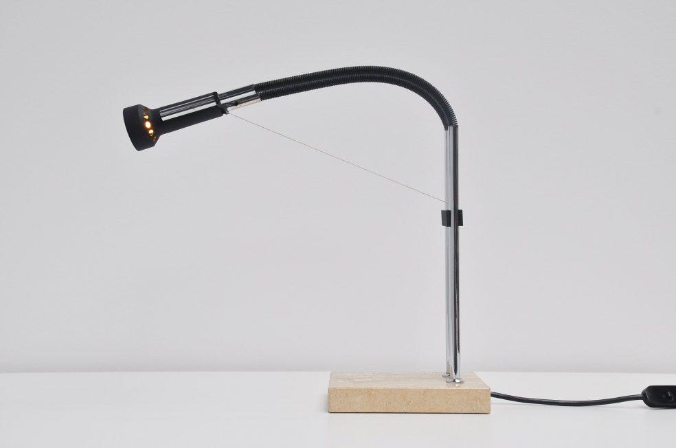 Arredoluce table lamp by Angelo Lelli, 1973