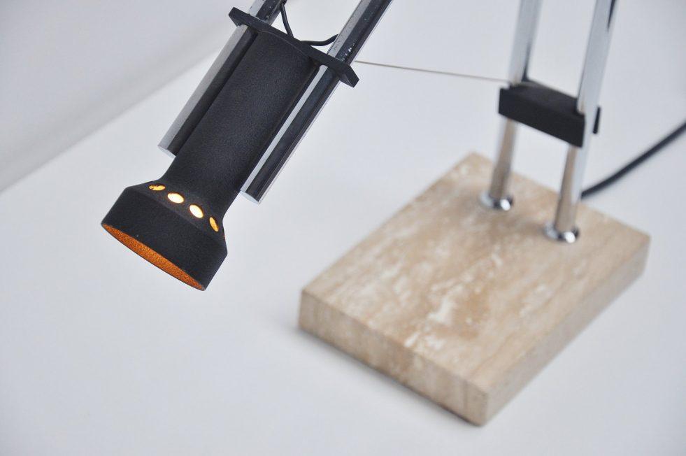 Arredoluce table lamp by Angelo Lelii, 1973