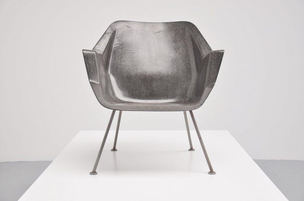 Wim Rietveld polyster chair No. 416 Gispen 1957