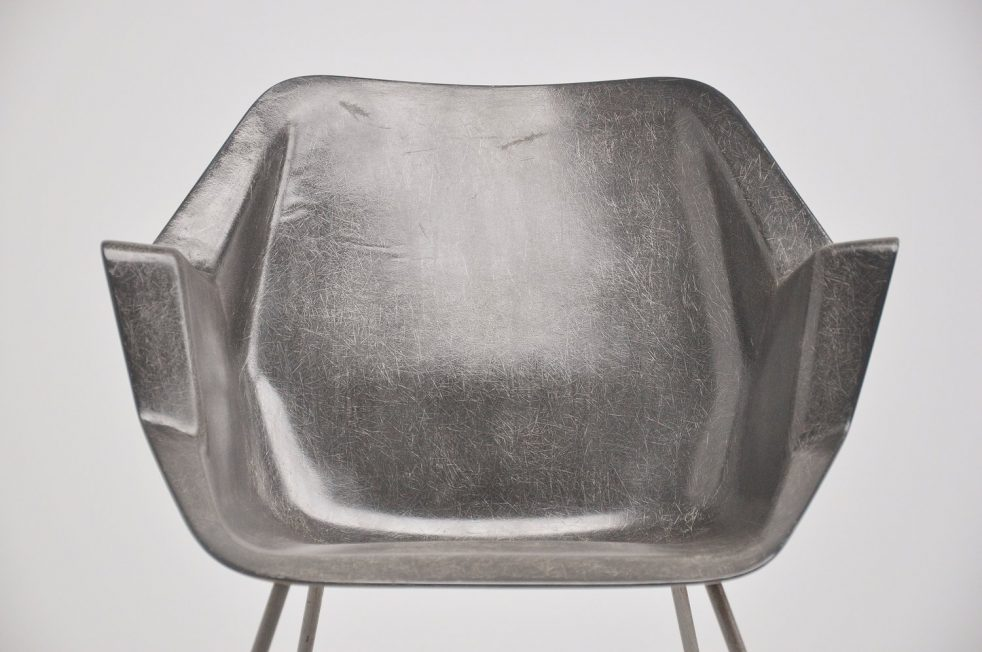 Wim Rietveld polyster chair No. 416 Gispen 1957