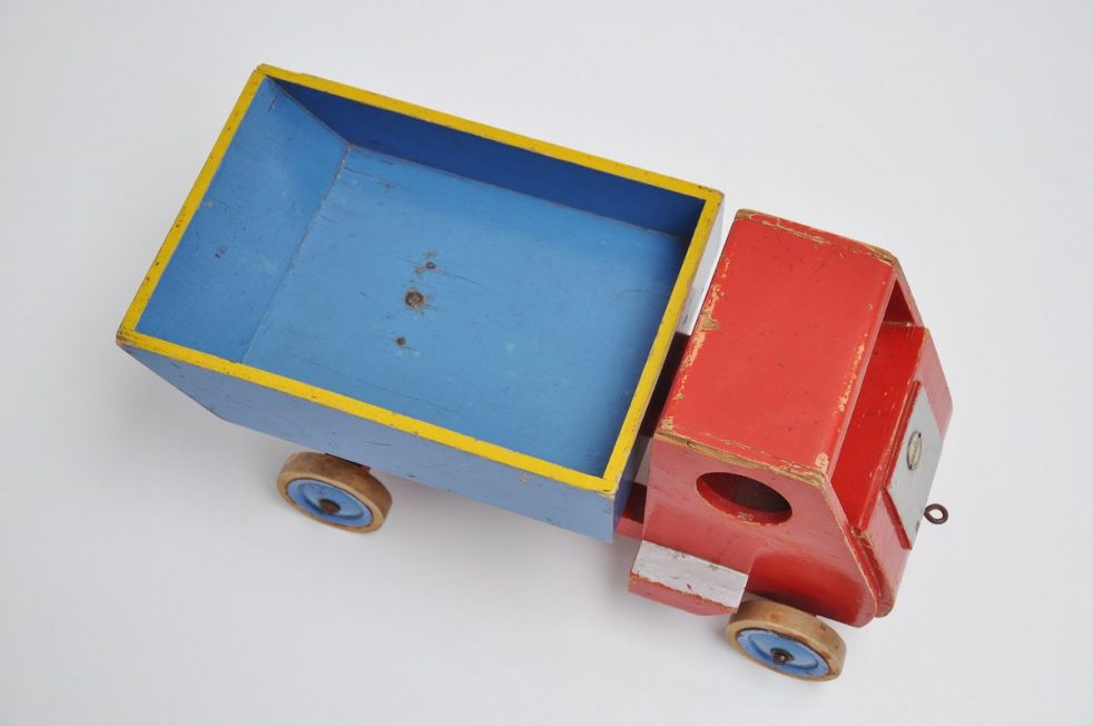 Ado Ko Verzuu small toy truck 1950