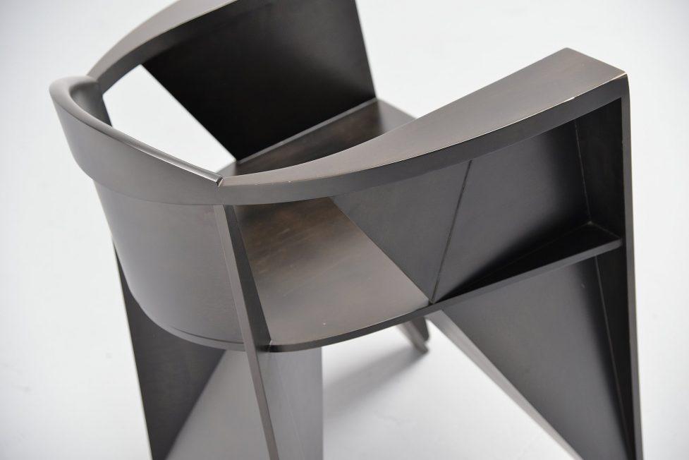 Unknown constructivist armchair, 1970