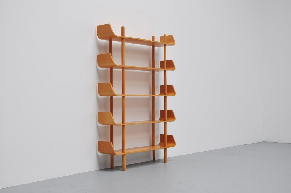 Willem Lutjens small bookcase for Gouda den Boer 1953