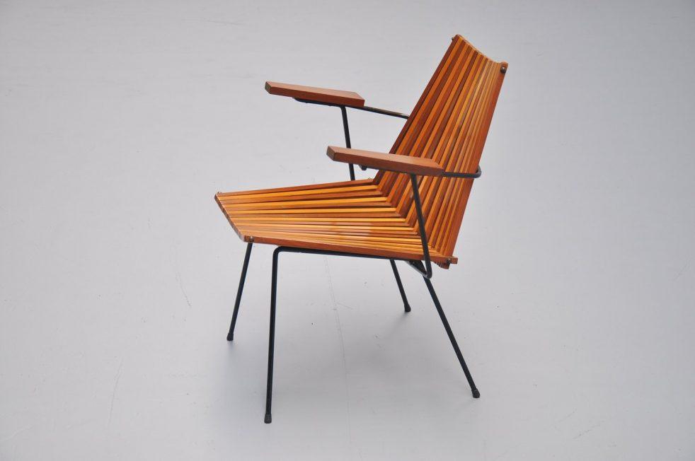 Dirk van Sliedrecht lounge chair Rohé Noordwolde 1960
