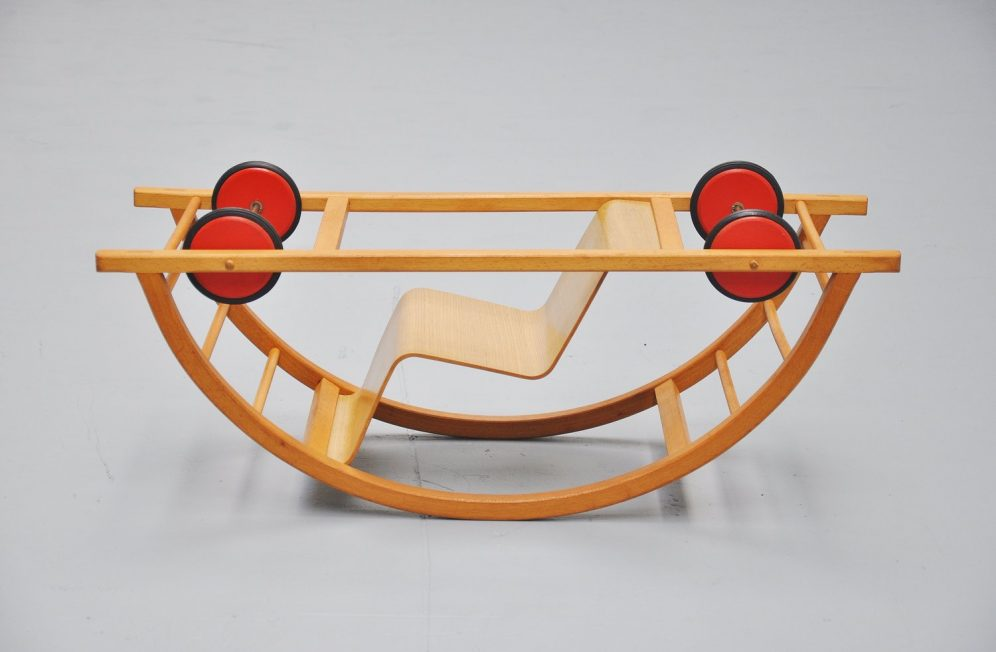 Hans Brockhage & Mart Stam rocking chair / car 1949 – 1950