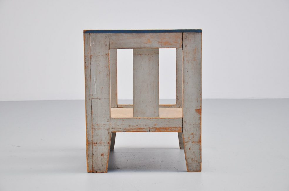 Modernist de Stijl kids chair, Holland 1950