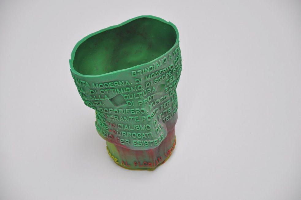 Gaetano Pesce Goto vase Domus 1995