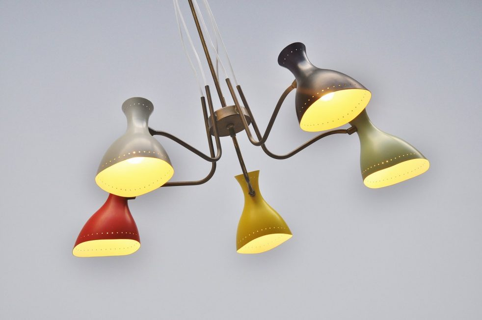 Anvia JJM Hoogervorst pendant lamp 1950