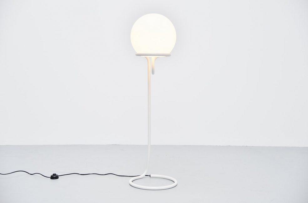Aldo van den Nieuwelaar globe floor lamp 1967