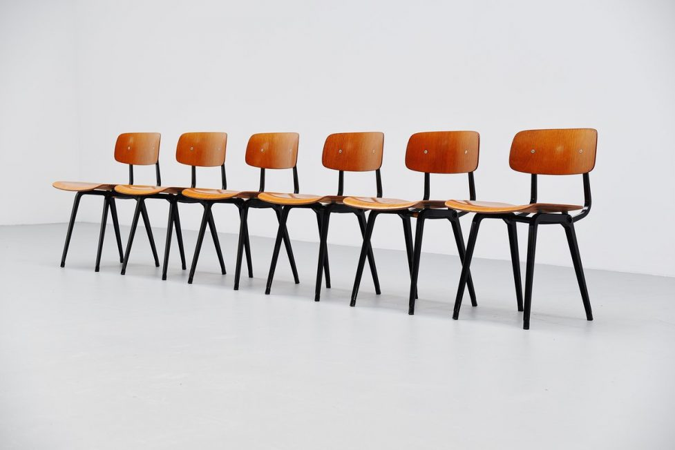 Friso Kramer Revolt chairs for Ahrend de Cirkel 1963