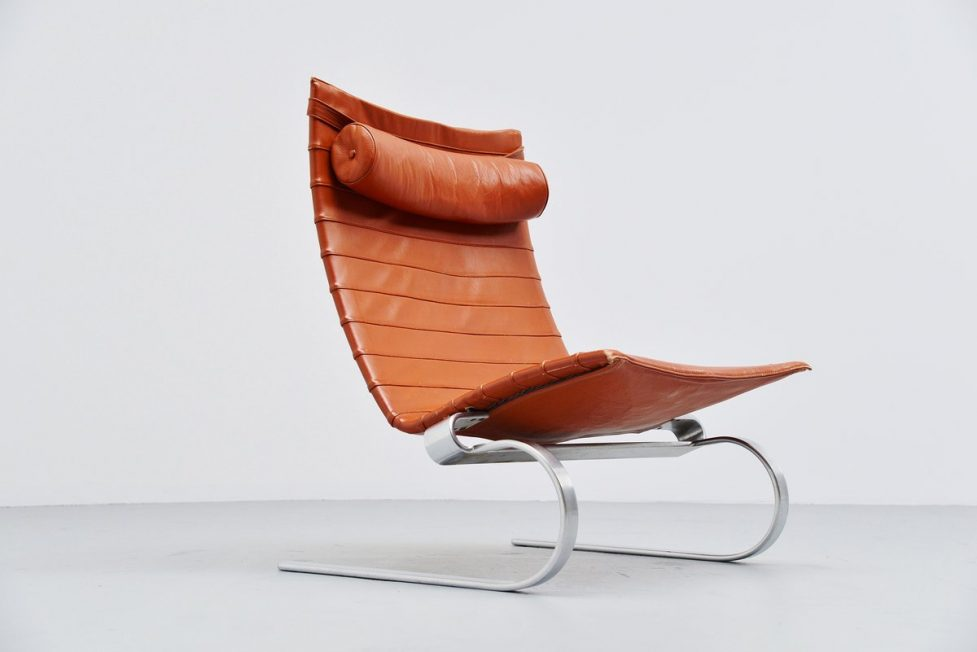 Poul Kjaerholm PK20 easy chair Fritz Hansen 1985