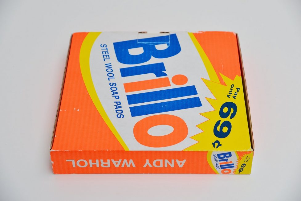 Andy Warhol Brillo catalogue Ronny van de Velde Antwerp 1988