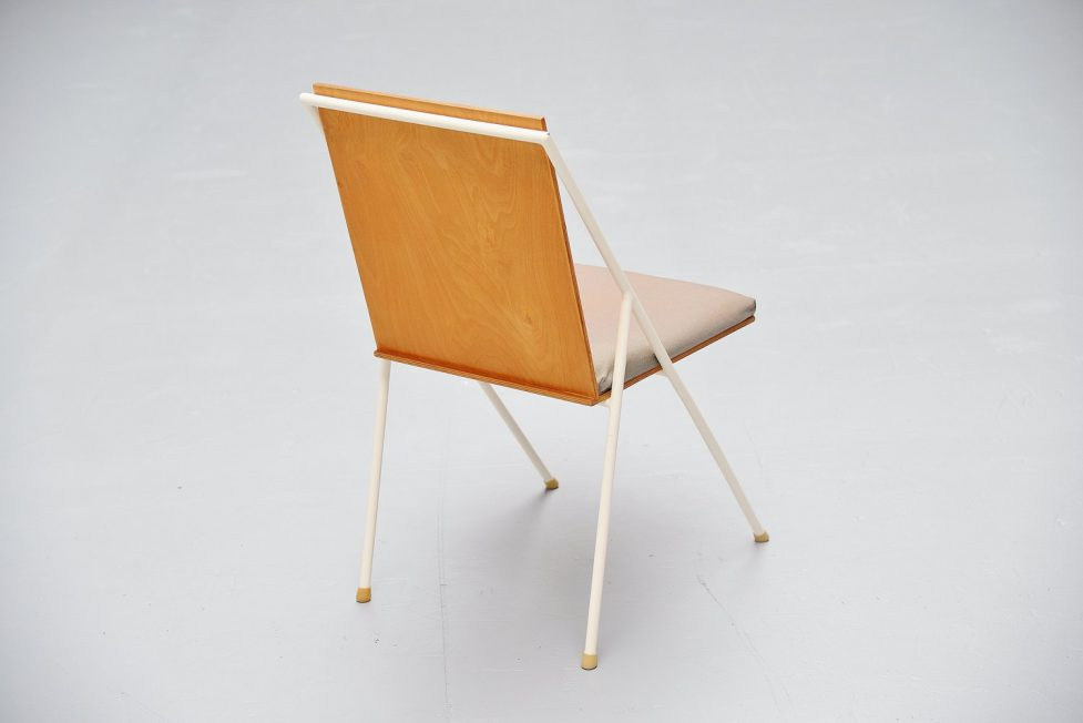 Gerrit Rietveld Jr side chair, Holland 1955