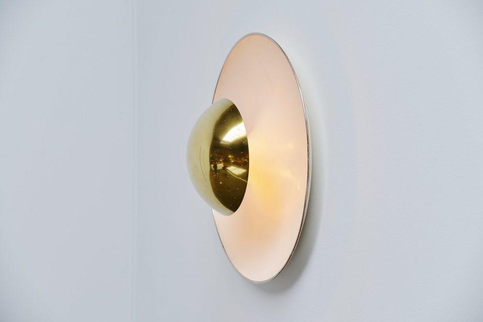 Gino Sarfatti Arteluce 155 large ceiling lamp 1950