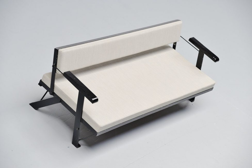 Gerrit Rietveld Jr daybed sofa, Holland 1955