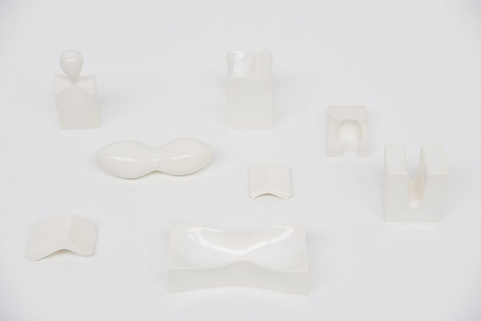 Berend Bodenkamp plastic sculpture set 1966/1968