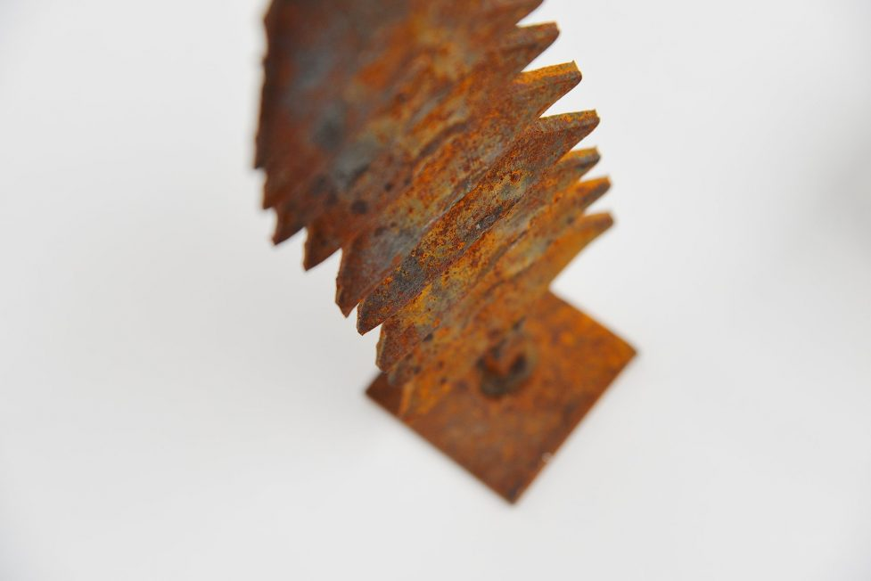Theo Niermeijer set of iron sculptures 1970