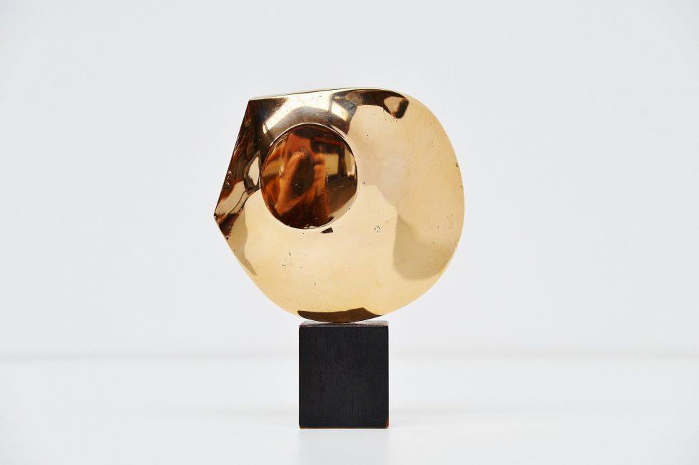 Lucien den Arend bronze sculpture 1975