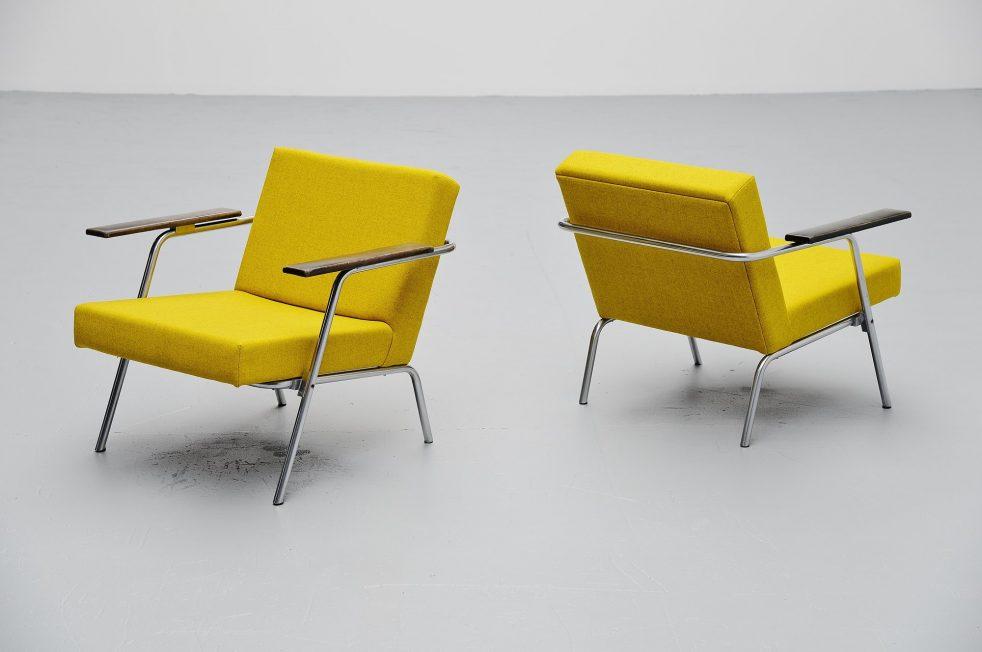 Martin Visser SZ02 easy chairs 't Spectrum 1964