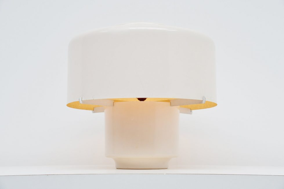 Metz & Co Polyester lamp Holland 1960