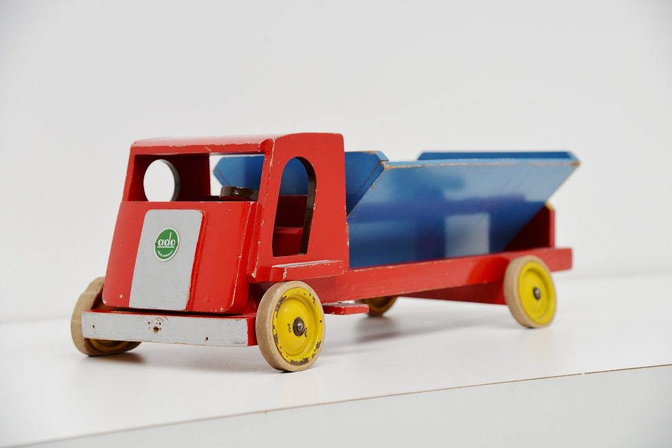 Ado Ko Verzuu dump truck, Holland 1950