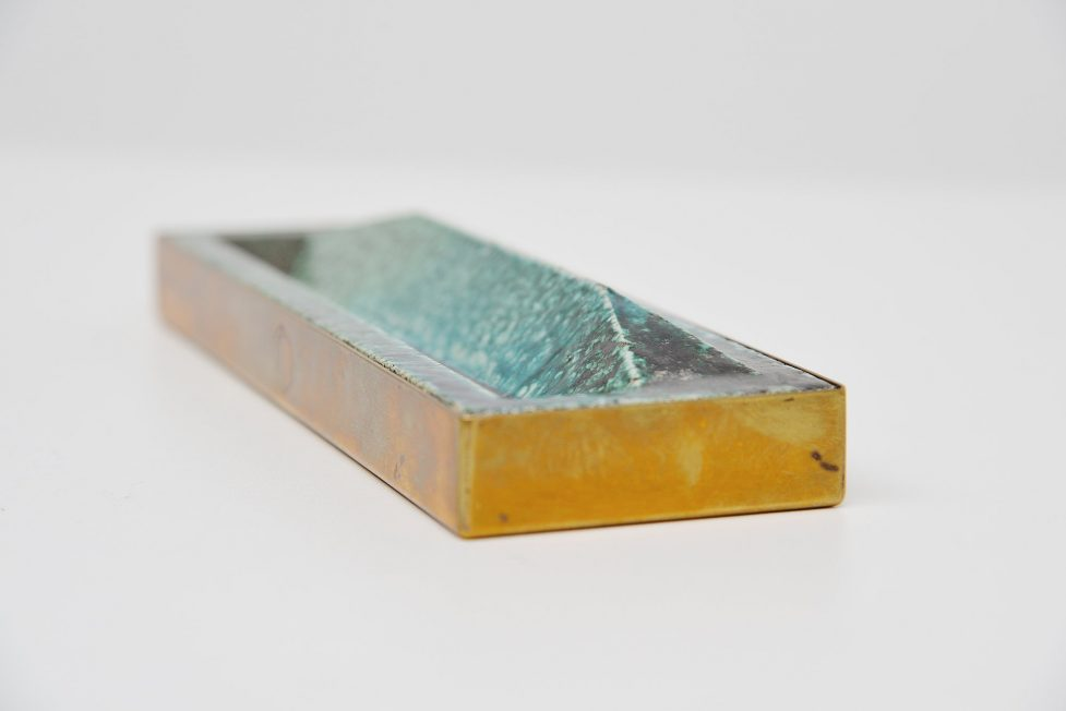 Gio Ponti Ceramic pen tray Italy 1969
