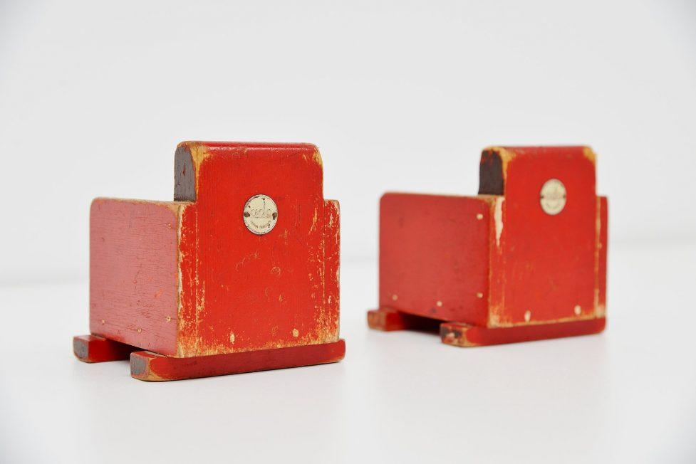 Ado toy chairs Ko Verzuu, Holland 1939
